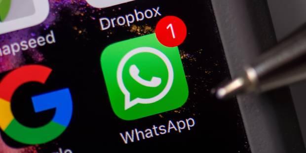 Voici pourquoi votre WhatsApp ne fonctionnait plus mercredi - La DH