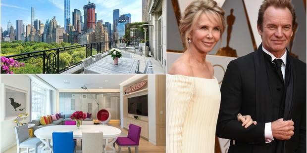 Sting vend son penthouse pour 56 millions de dollars (PHOTOS) - La DH