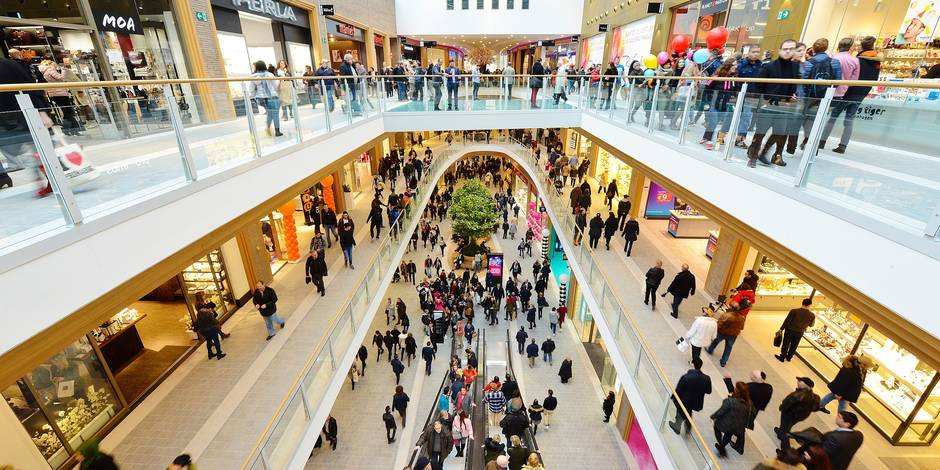 Charleroi - Centre commercial Rive Gauche