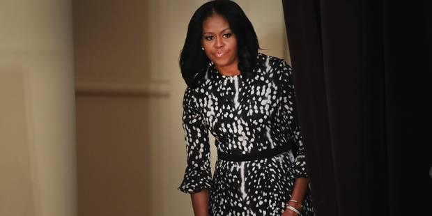 Michelle Obama tweete par erreur un numéro de portable - La DH