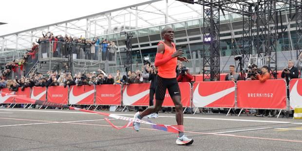 Marathon : la barre des 2h n'a pas été franchie - La DH