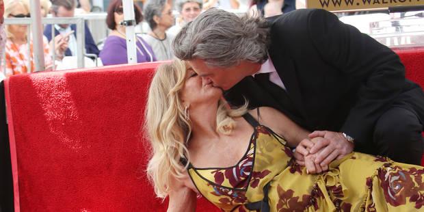 Goldie Hawn et Kurt Russell reçoivent leur étoile à Hollywood - La DH