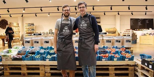 Etterbeek: Un marché couvert 100% bio place Saint-Pierre - La DH
