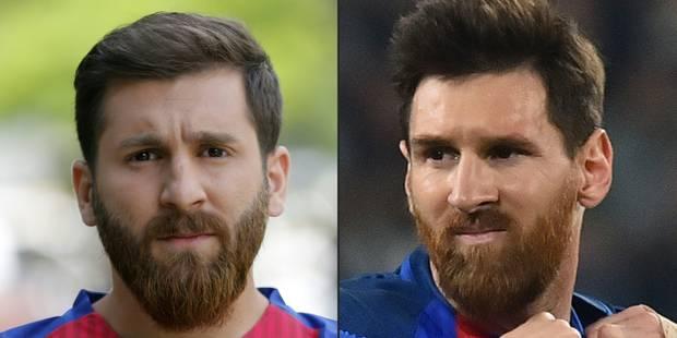 Être le sosie de Messi n'est pas de tout repos en Iran - La DH