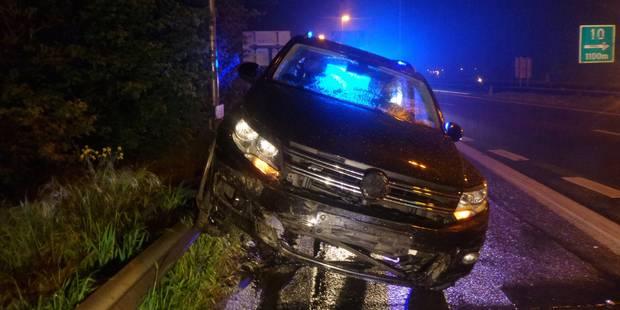 Charleroi: le conducteur fantôme roulait sous l'influence d'alcool et de drogue (Photo et VIDEO) - La DH