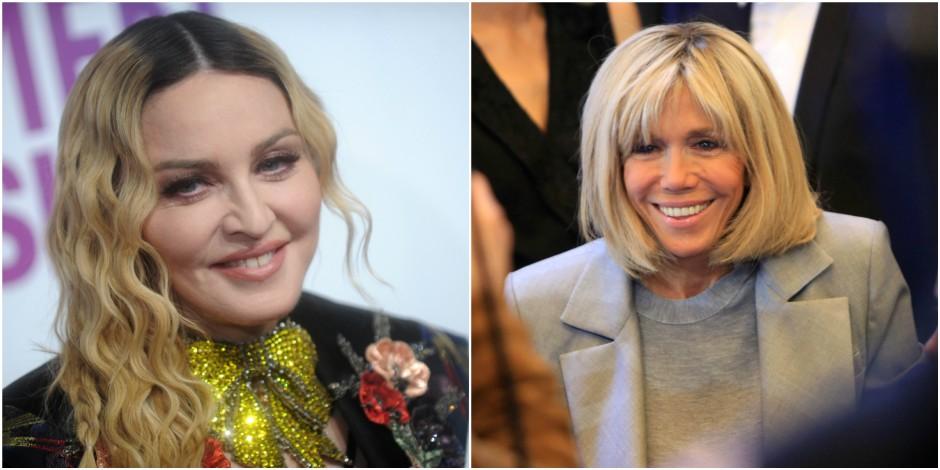 Madonna à la rescousse de Brigitte Macron