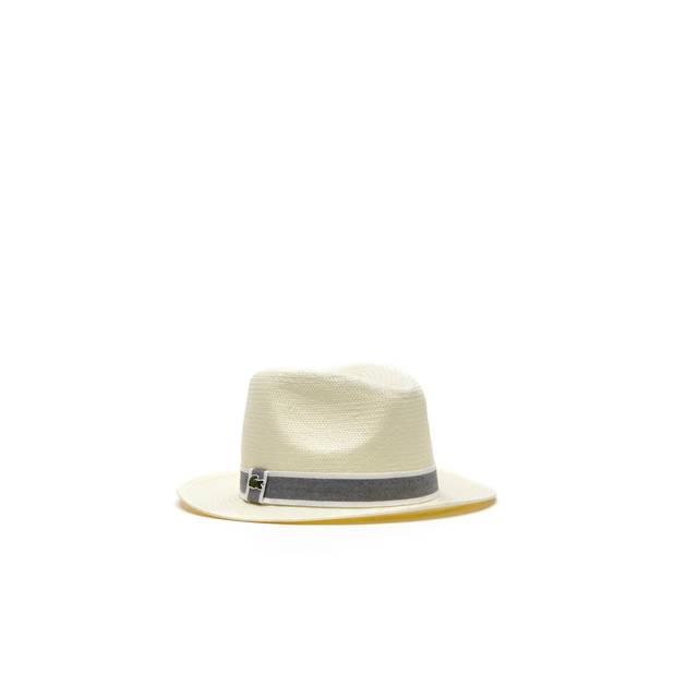 Chapeau de paille Lacoste