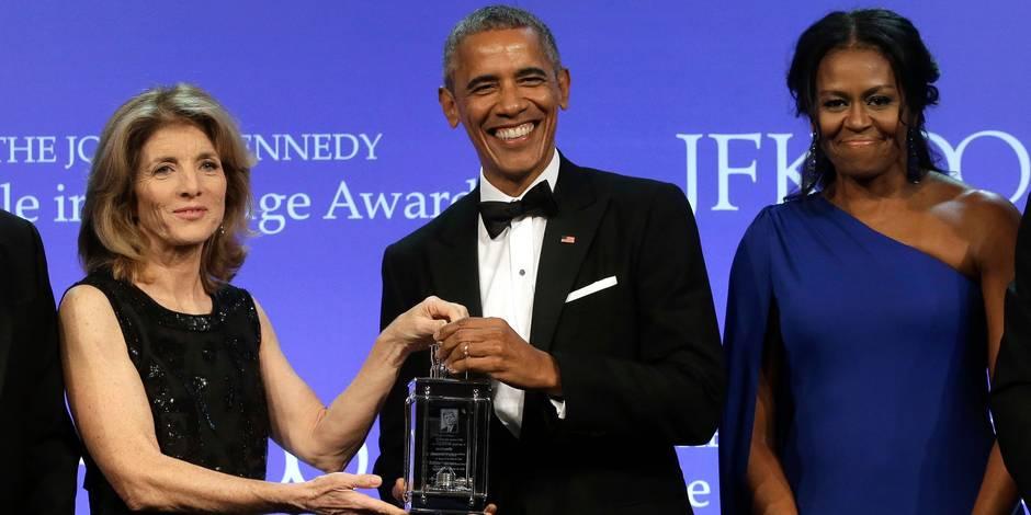 Le couple Obama fait toujours autant le buzz