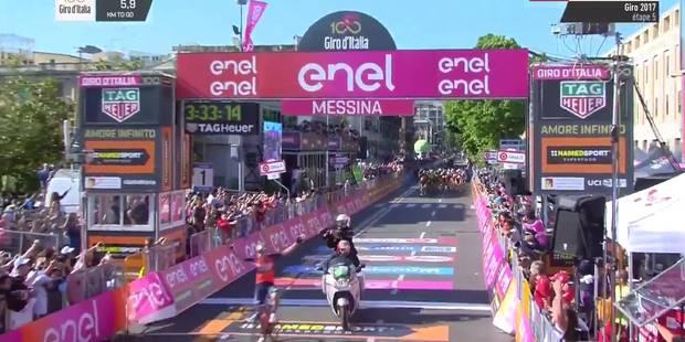 Malaise au Giro: Pibernik célèbre la victoire... trop tôt! (VIDEO) - La DH