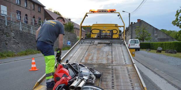 Chercq: Un motard blessé dans un accident - La DH