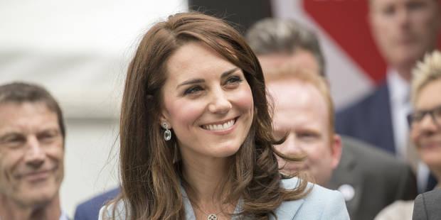 Grande foule pour Kate Middleton au Luxembourg - La DH