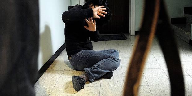 Un Sérésien frappe sa femme devant leurs enfants en bas âge - La DH