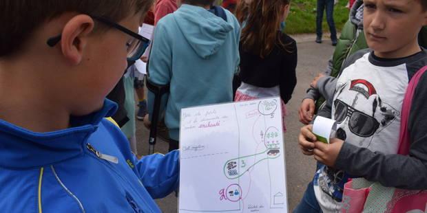 Gembloux: des enfants inaugurent un sentier pour la biodiversité (PHOTOS + VIDEO) - La DH