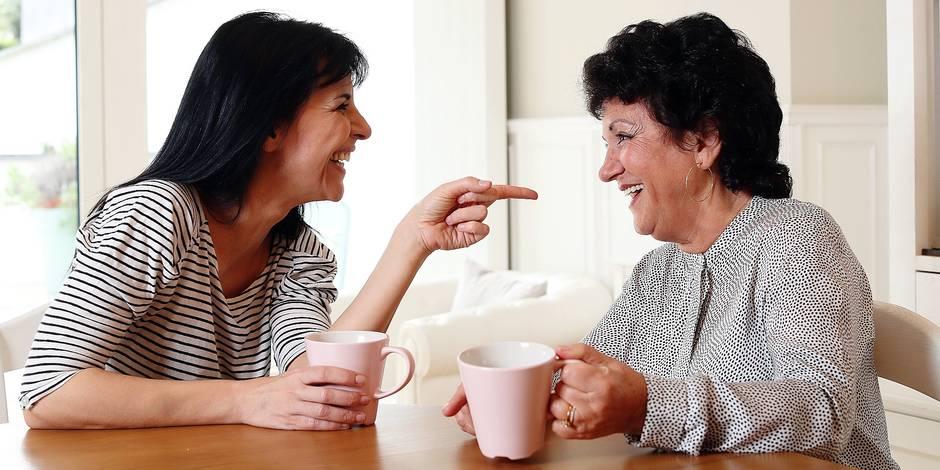 """Maria del Rio nous présente sa maman: """"On a le même second degré"""" - La DH"""