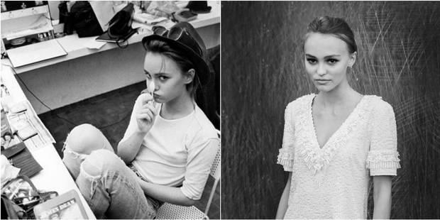 Lily-Rose Depp, portrait craché de sa mère Vanessa Paradis - La DH