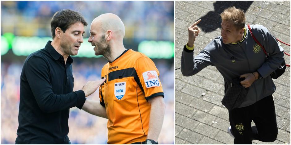 Les piles de Weiler et le doigt de Teo: retour sur ces incidents qui ont émaillé le choc Bruges - Anderlecht