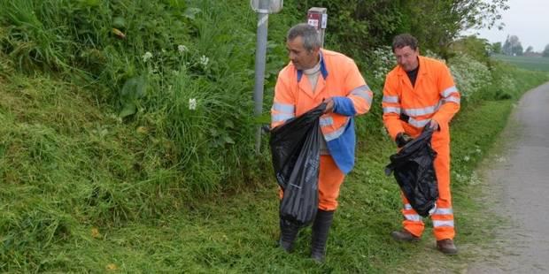 Déchets sur la voie publique: la commune de Frasnes va sévir! - La DH