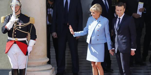 Voici pourquoi Brigitte Macron aura des soucis pour accompagner son mari à travers le monde - La DH