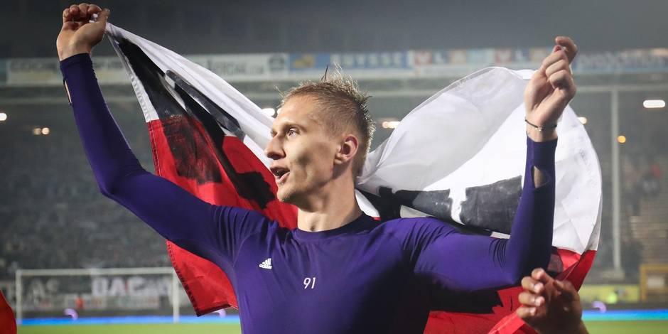 Teodorczyk offre le titre à Anderlecht: retour sur sa saison de folie
