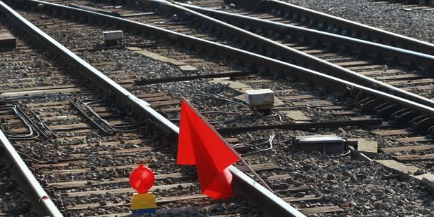 Camion tombé sur les voies de chemin de fer: le trafic a pu reprendre sur une voie - La DH