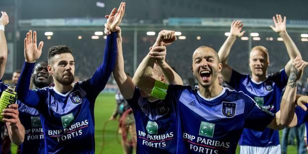 Le bulletin de notes des champions: grande dis pour Anderlecht