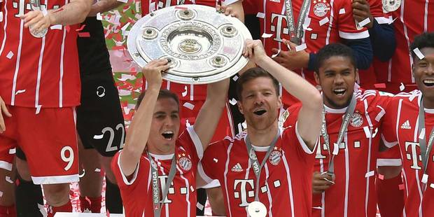 Après-midi émotion au Bayern avec les départs à la retraite de Lahm et Alonso (VIDEOS) - La DH