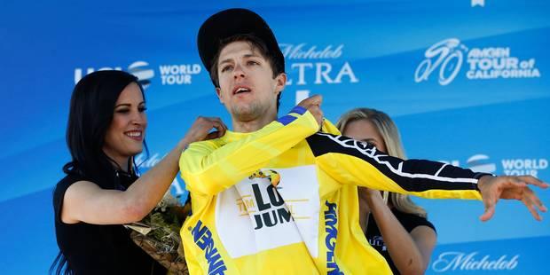 Tour de Californie: Jon Dibben gagne le contre-la-montre et le maillot jaune va à George Bennett - La DH