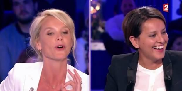 """Ça chauffe entre Vanessa Burggraf et Najat Vallaud-Belkacem dans ONPC: """"Vous êtes journaliste et vous tombez dans la fak..."""