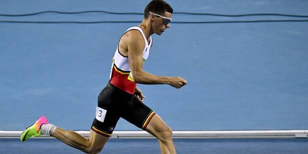 Kevin Borlée 2e à Kingston pour sa rentrée individuelle en 45.52 secondes - La DH
