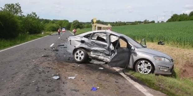 Accident sur le N951 à Lesve : une dame succombe à ses blessures - La DH