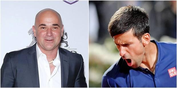 """Djokovic - Agassi, le duo de rêve: """"Déjà l'impression qu'on est proches"""" - La DH"""