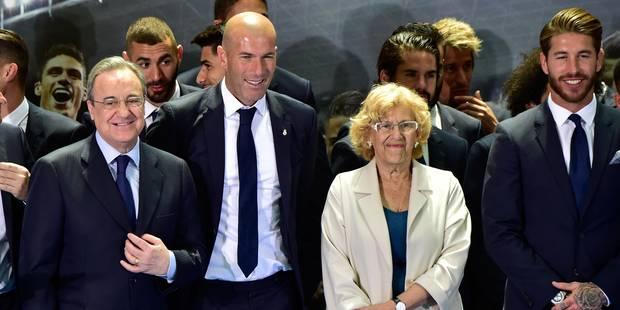 """""""Zidane est le meilleur entraîneur du monde"""" - La DH"""