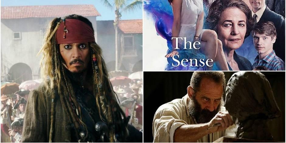 Sorties ciné: une nouvelle galère pour Jack Sparrow, un beau roman et un Rodin trop classique - La DH