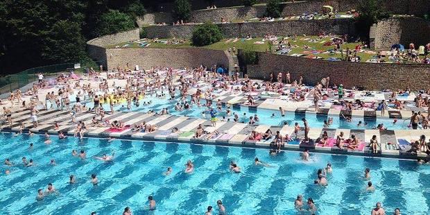 Marcinelle : la piscine en plein air ouverte dès aujourd'hui - La DH