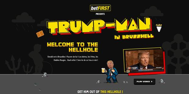 """Trump à Bruxelles: Aidez-le à sortir du """"trou à rats"""" et pariez sur ses déclarations ! - La DH"""