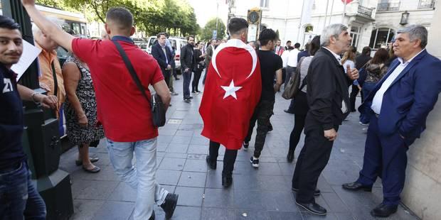 Erdogan est arrivé à son hôtel: l'interdiction de rassemblement est respectée - La DH