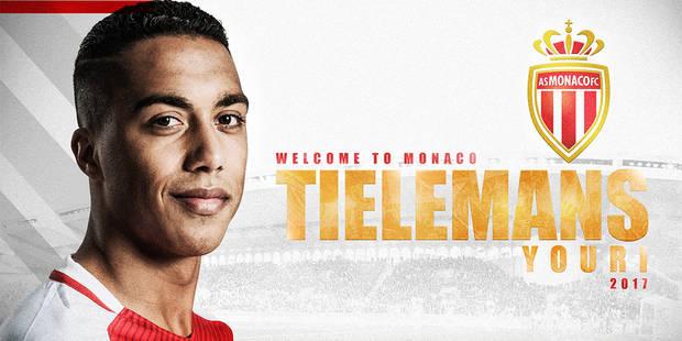 """Tielemans signe pour 5 saisons en faveur de l'AS Monaco: """"Yannick Carrasco m'a beaucoup parlé en bien du club"""" - La DH"""