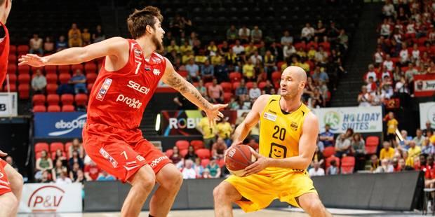 Euromillions League: Ostende prend l'avantage face au Spirou - La DH