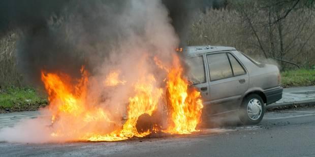 Une voiture en feu provoque des files importantes sur le ring de Bruxelles - La DH