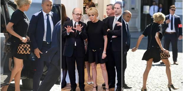 Et qui avait la robe la plus courte ? Brigitte Macron ! - La DH