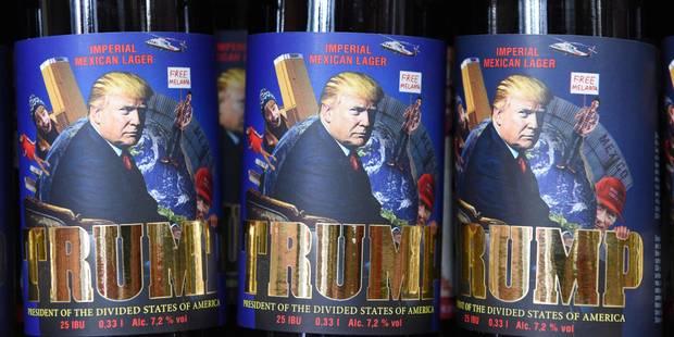 """""""Trump"""", la nouvelle marque de bière artisanale """"impériale mexicaine au citron vert"""" - La DH"""