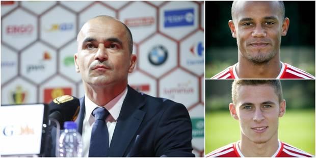 Diables rouges: Kompany et Thorgan Hazard de retour, Tielemans cité en exemple par Martinez - La DH