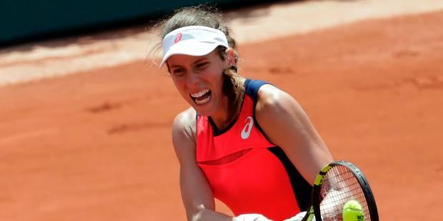Roland-Garros: Johanna Konta, deuxième top 10 éliminée au premier tour - La DH