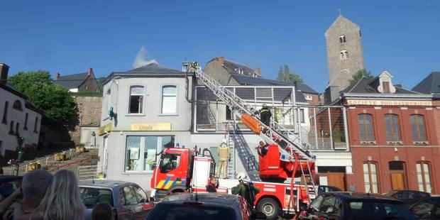 Lobbes: trois appartements et une pharmacie endommagés par un incendie - La DH