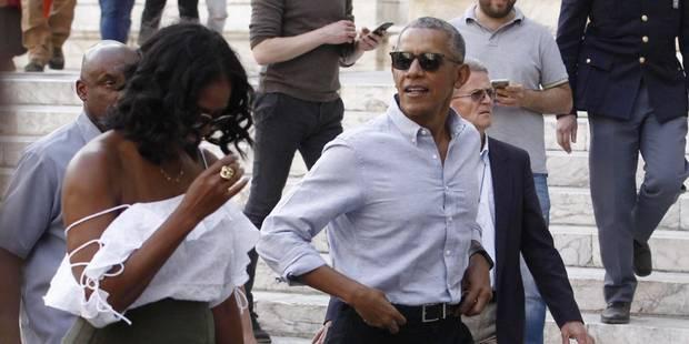 Michelle Obama mène la dolce vita en Italie et se libère côté style - La DH
