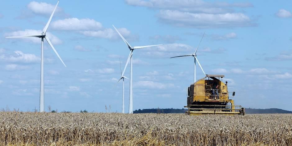 Walhain : vent de contestation contre sept éoliennes