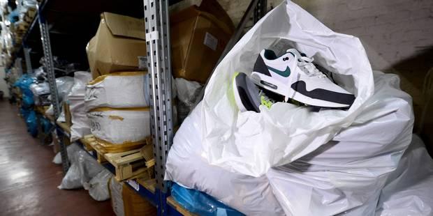 Ils importaient des fausses Nike par dizaines de milliers - La DH