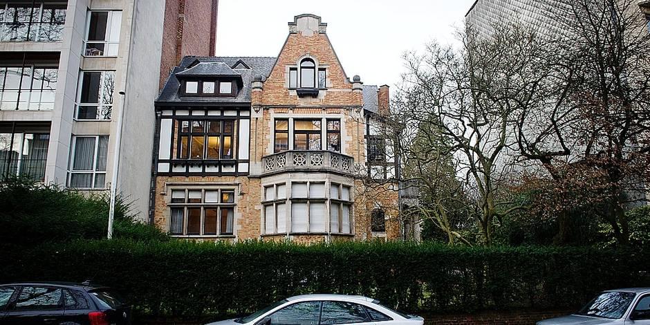 Face aux huit étages projetés (25 appartements), par l'architecte Marc Corbiau; au 228 avenue Winston Churchill à Uccle, Emile Bonte n'entrevoit aucun espoir.