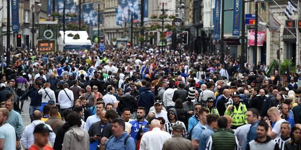 Cardiff bouillante à quelques heures de la finale (VIDEOS) - La DH