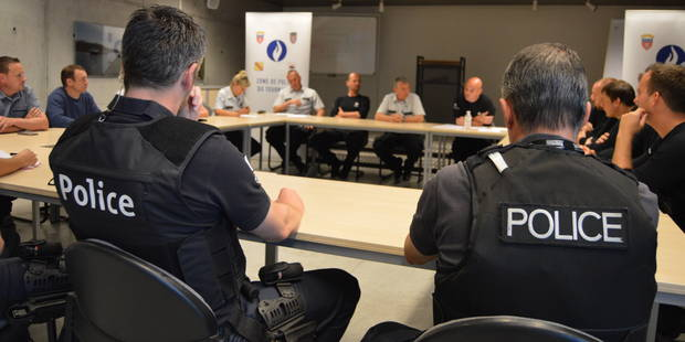 Tournai : La police veille sur les sardines de Patrick Sébastien - La DH